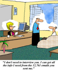 I don't need to interview you