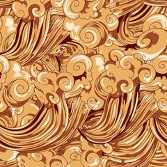 Sweet coffee pattern