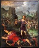 Mechelen - David and Goliath scene