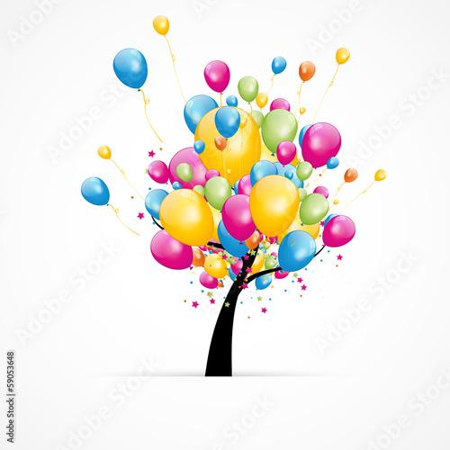arbre/ballons