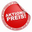 3D Aufkleber Rot - Aktionspreis!