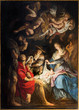 Antwerp - Paint of Nativity by P. P. Rubens