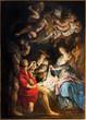 Leinwanddruck Bild - Antwerp - Paint of Nativity by P. P. Rubens