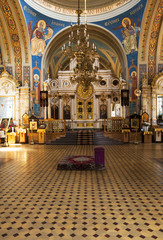 church (inside) . Bialystok, Poland