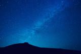 Fototapety Milky way stars at night
