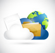 cloud computing documents and globe network