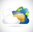 cloud computing documents and globe network
