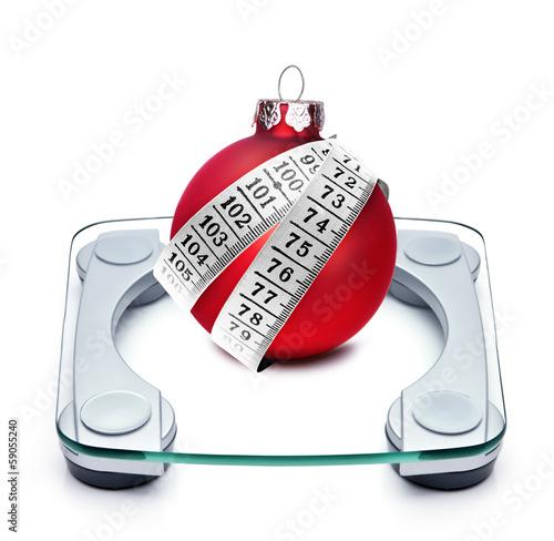 Gewicht an Weihnachten