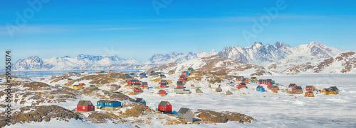 Leinwandbild Motiv Greenland landscape