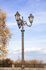 Lamp in my city.