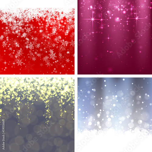 Christmas Background Set 1