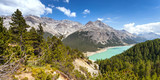 Fototapety dighe di Cancano - Bormio (IT) - panorama