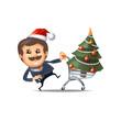 Christmas sale. Vector format