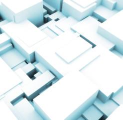 3d building cubes