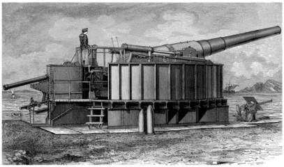 Cannon - Geschütz - 19th century