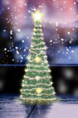 Weihnachtlicher Tannenbaum