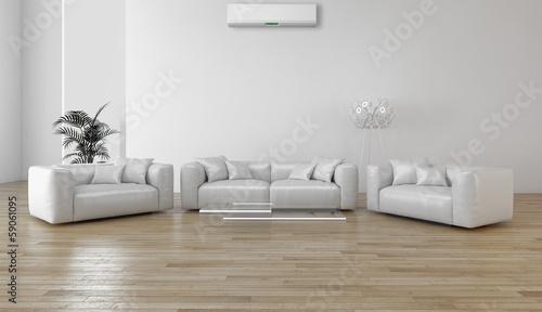 Interno con aria climatizzata