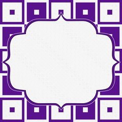 Purple and White Tapestry Square Fabric Background