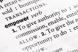 """Dictionary definition of """"Empower"""""""