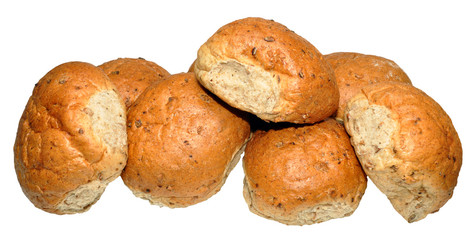 Crusty Wholemeal Bread Rolls