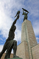 The Liberation Monument in Budapest
