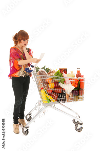 Expensive weekly groceries