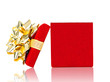 Opened Gift Box For Any Occasion Isolated on White