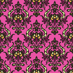 Seamless pattern gift wrap vector colorful