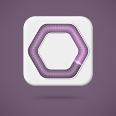 Web preloader. Download bar icon