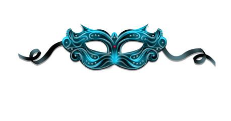 маска голубая
