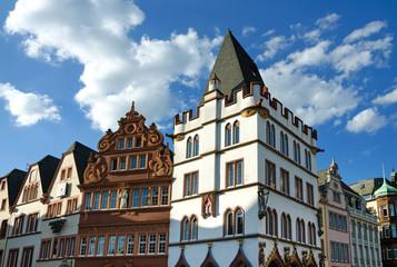 Trier - Steipe und Rotes Haus am Hauptmarkt