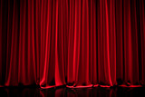 curtain in a theater