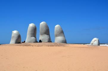 """""""Los Dedos"""", Punta del Este, Uruguay"""
