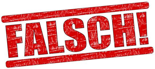 Falsch Stempel rot  #131204-svg02