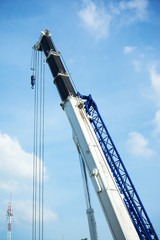 crane in construction site
