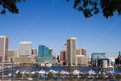 Baltimore Harbor Skyline