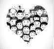 I Love People heart of people