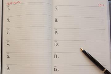 2014年スケジュール表