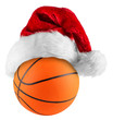 basketball santa hat