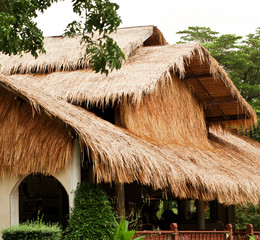 Traditional rural house from Thailand
