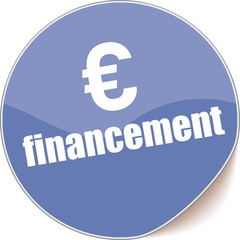 étiquette financement