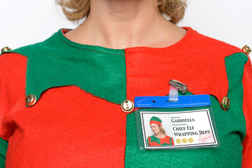 Chief Elf name tag