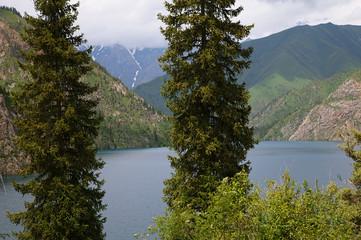 Sary Chelek lake, Jalal Abad region, Kyrgyzstan, Central Asia