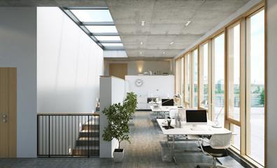 modernes Loft Büro - Modern Loft Office Agency
