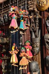 Непал, Катманду, продажа сувениров на площади Дарбар
