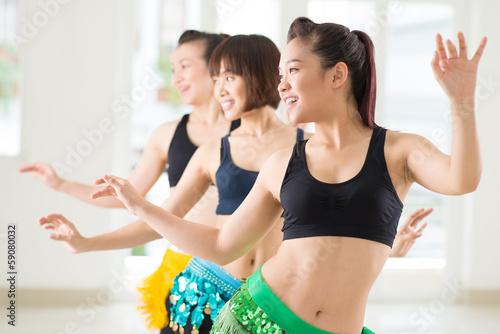 Plexiglas Dans Belly dancing