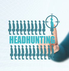 Executive Search. headhunting