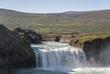 cascata Godafoss a nord dell'Islanda