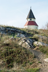 Small church on the hill