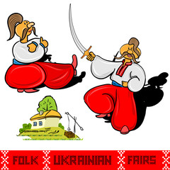 cossack ukrainian folk fairs and house
